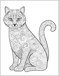 Free Printable Coloring Pages Of Dogs And Cats Realistic Dog Cat
