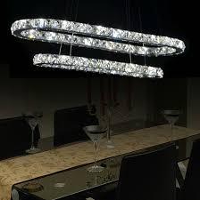 track lighting chandelier impressive on interior intended modern fashion dining room living crystal led 10