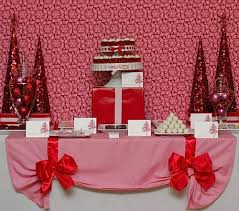 These are films that were made for television (including streaming services). Pink Red Christmas Dessert Table Feature