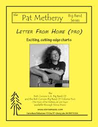 Big Band Guitar Charts Letter From Home Pro Pat Metheny Arr Curnow
