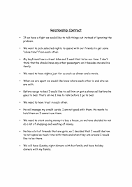 Relationship Agreement Template 24 Relationship Contract Templates Relationship Agreements 1