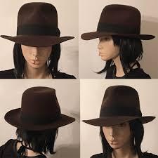 Authentic Raiders / Indiana Jones Fedora Hat by Herbert Johnson, 100% fur  felt | Indiana jones fedora, Fedora, Fedora hat