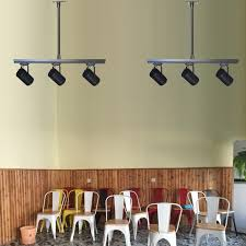 Industrial track lighting industrial track lighting zoom Farmhouse Industrial Personality Restaurant Clothing Store Spot Light Cafe Light Fixture Led Long Arm Track Spot Light Zoom Ceilingme Usd 1558 Industrial Personality Restaurant Clothing Store Spot