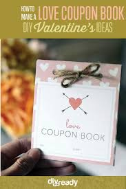 Diy Coupon Book How To Create A Love Coupon Book Diy Projects Craft Ideas How Tos