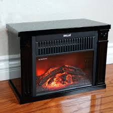 ... Large Image for Infrared Tabletop Space Heater Flame Effect Mini  Electric Fireplace Portable Fireplaces At Lowes ...