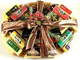 image unavailable image not available for color executive cl sausage and cheese gift basket