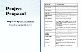 It Project Proposal Template Free Download Project Proposal Template Free Templates Web Download Opusv Co