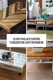diy pallet coffee table ottoman