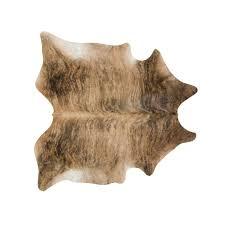 medium brindle cowhide rug medium