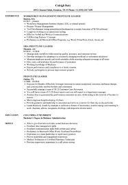 Resume Of Team Leader Formidable Sample Resume Team Leader Call Center For Your Retail Cv