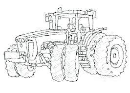 Kleurplaten Boerderij Tractor Clarinsbaybloorblogspotcom