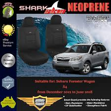 sharkskin neoprene front seat covers