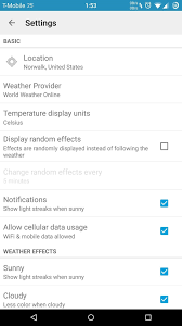 Get Real Time Effects That Describe The Weather Outside On Your