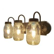 Eclectic lighting Shabby Chic The Lamp Goods Mason Jar Vanity Light Trio Of New Quarts Oil Rubbed Bronze Shades Of Light 50 Most Popular Eclectic Bathroom Vanity Lights For 2019 Houzz
