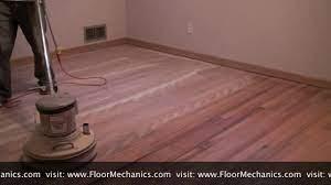 hardwood floor refinishing buffing