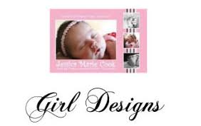 Unique Baby Birth Announcements And Photo Cards By Sweetpeaprint