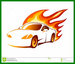 car with flames clipart. Unique Flames Shocking Flames Clipart Race Car Image For With Coloring Page Inside UbiSafe