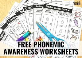 phonemic awareness Archives - A Teachable Teacher