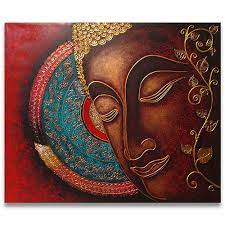 famous buddha painting abstract art l