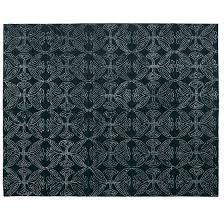 dreamtime hand tufted wool black white rug 150x 240cm rugs mats floor coverings soft furnishings homewares