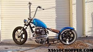 spiderracing bobber custom chopper xs 750cc xs650 chopper