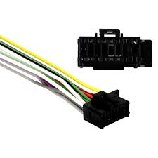 metra� pr04 0001 16 pin wiring harness with aftermarket stereo Pioneer DEH- P47DH at Pioneer Deh P7900bt Wiring Harness