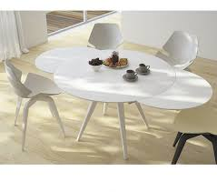 furniture expandable small dining table modern glass dining table round dinner table for 4 narrow extendable