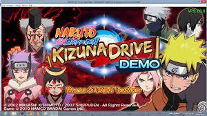 Playable] Naruto shippuden Kizuna Drive DEMO
