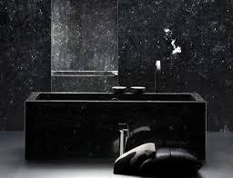 black bathroom. Bold Contemporary Interior Design Ideas: Black Bathroom Luxury E