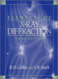 Amazon Com Elements Of X Ray Diffraction 3rd Edition
