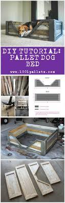 DIY PDF Tutorial Pallet Dog Bed  1001 Pallets  FREE DOWNLOAD