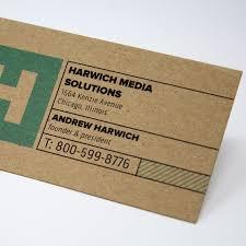 social media handles on business cards. kraft business cards social media handles on