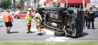 Hemet Possible Road Rage Incident Leads To Rollover Accident