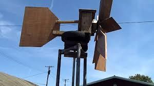homemade wind generator from old car alternator