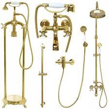 Details Zu Duschset Badewannenset Duschsystem Duschgarnitur Armatur Retro Dusche Gold Antik