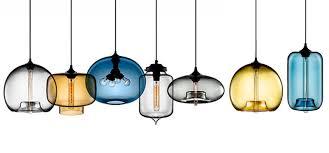 53 great elegant colored glass pendant lights fixtures style design