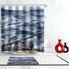 waterproof paint for shower polyester waterproof oil paint ocean scenic tank shower curtain bathroom curtains hooks waterproof paint for shower