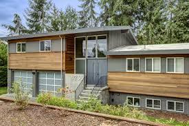 Slide   Pinteres - Split level exterior remodel