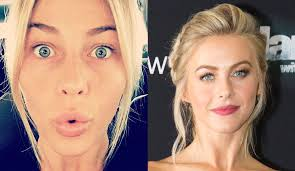 julianne hough from stars without makeup the dancing with the stars judge snaps a make up free selfie