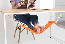 now i need an under the desk foot hammock