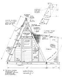 how to build this a frame cabin that