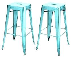teal counter stool blue leather stools metal height chairs velvet
