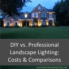 diy led home lighting. Delighful Home DIY Vs Professional Landscape Lighting Installation To Diy Led Home Lighting