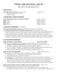 New Graduate Nurse Resume Gallery Of New Graduate Nurse Resume