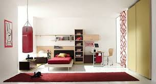 ... boy's bedroom with minimalist furniture and fun decorations View ...