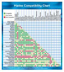 Marine Compatibility Chart Thatpetplace Com Fish