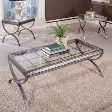 Good Steve Silver Furnitureu0027s Emerson 3 Piece Coffee Table Set