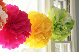 How To Make Tissue Paper Balls For Decoration Fascinating 32 Tissue Paper Pom Poms Guide Patterns