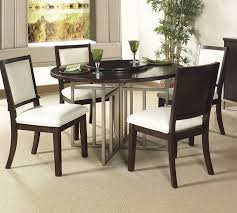 mind blowing dining room design ideas using round dining table with lazy susan interesting dark