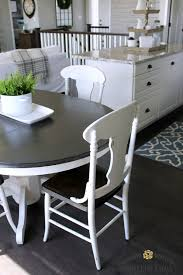 best dark wood dining table and 6 chairs new farmhouse style painted kitchen table